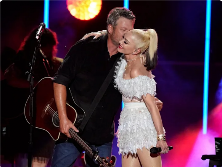 Gwen Stefani shared behind-the-scenes videos of the moment she 'said yes to the dress' for her wedding to Blake Shelton