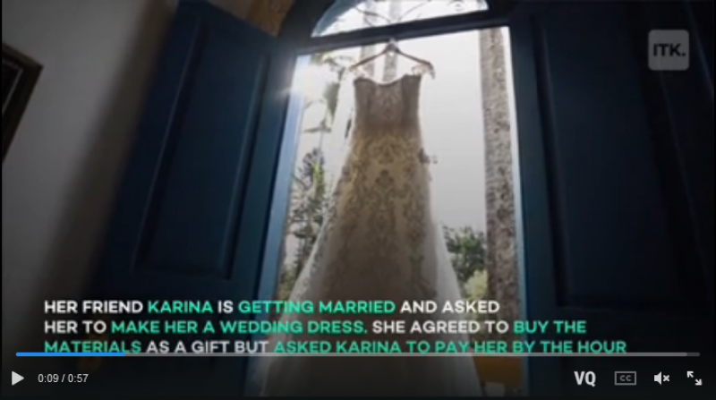 Wedding dressmaker blown away by bride's 'unreasonable' last-minute demand: 'You have been taking advantage of me'
