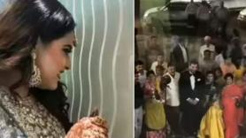 Wedding News: Cute bride eagerly waits for groom, does THIS when she sees him watch