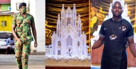Baking King: Talented Soldier Makes Giant Castle Cake for Fairytale Wedding