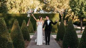 Wedding of the week: Bronwyn Jones and Dusty Ellen provided more than just good food and music when they wed