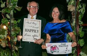 Woolgoolga loved-up retirees Zoom ahead with wedding bells