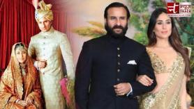 Kareena wore 200 years old Sharara at wedding, is 10 years younger than Saif