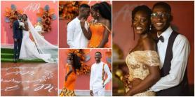 Nigerian Lady Weds Photographer She Met at Her Friend's Birthday Party in 2016, Their Wedding Photos Go Viral