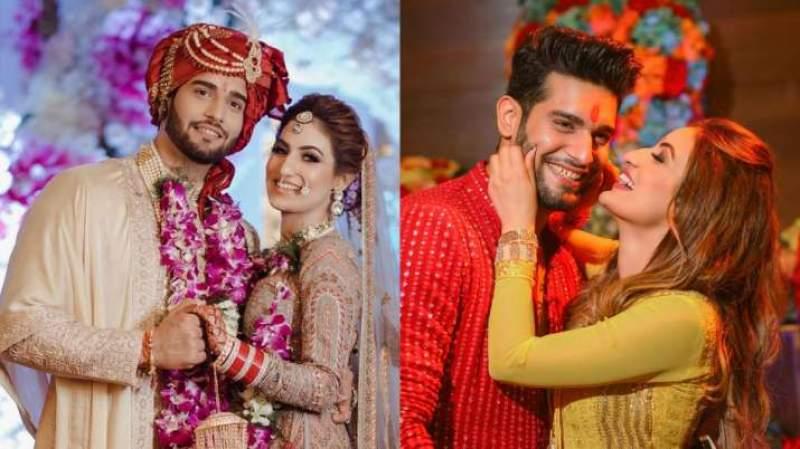 Yeh Hai Mohabbatein actor Abhishek Malik ties knot with Suhani Chaudhary; see dreamy wedding pics