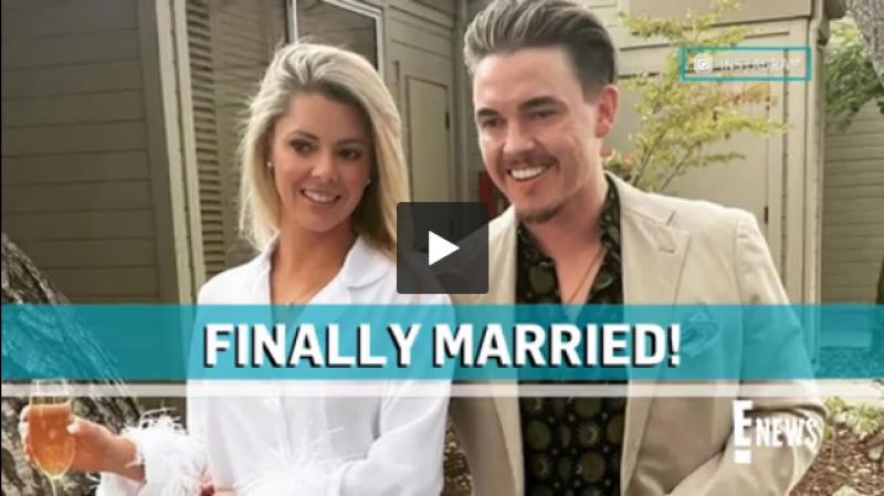 Jesse McCartney Marries Actress Katie Peterson in California Wedding